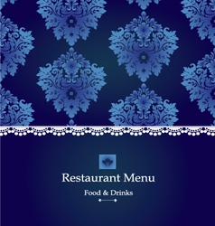 menu-design vector image