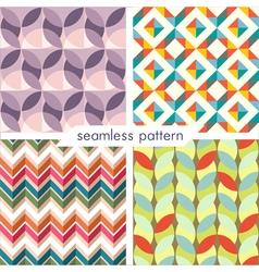 seamless pattern set 13 vector image