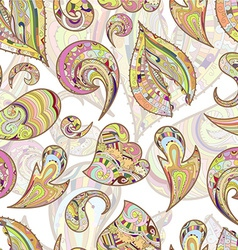 Whimsical floral background vector image vector image