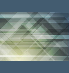 abstract geometric triangles tech background vector image
