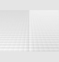 abstract white and gray geometric square grid vector image