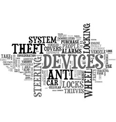 anti spyware text word cloud concept vector image