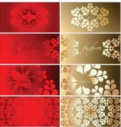 Background cards vector
