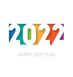 Happy new year 2022 background brochure vector