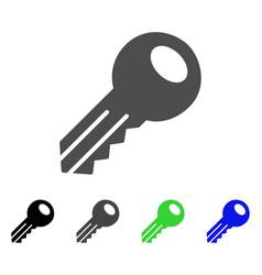 Key flat icon vector