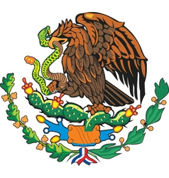 Mexico Coat-of-Arms vector