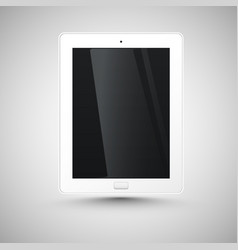 realistic tablet vector image
