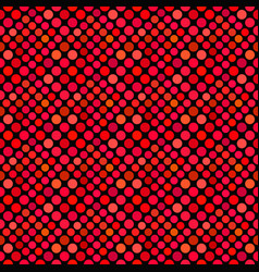 red dot pattern background - abstract vector image