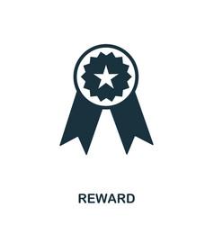 reward icon line style icon design ui vector image