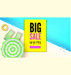sales action big summer offer get up to seventy vector image