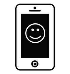 Smile App vector image