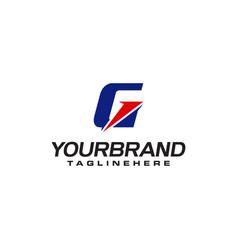 Unique logo that forms letter g matches your vector