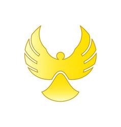 Angel-Bird-380x400 vector image