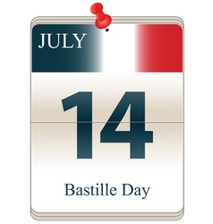 Bastille Day vector image vector image
