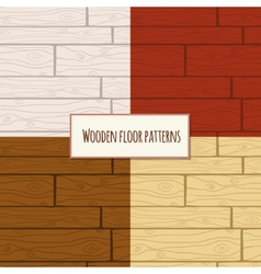 Wooden floor seamless pattern vector