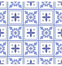 cute tile pattern vector image