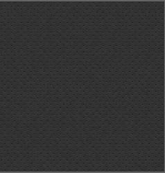 Dark gray perforated leather seamless vector