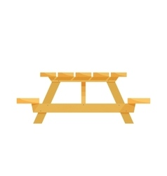 Empty wooden table for product placement with vector