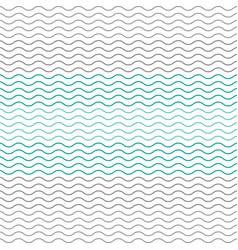 pastel chevron pattern wavy line vector image