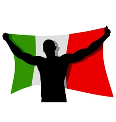 The Winner Flag vector image