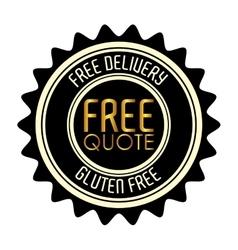 Free quote design vector