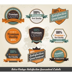 vintage styled premium quality vector image vector image