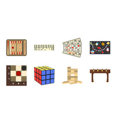 Board game icons in set collection for design vector