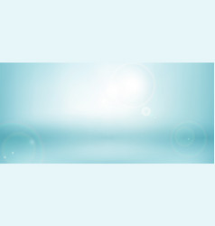 abstract blue blurred nature background vector image