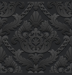 Dark vintage background vector image