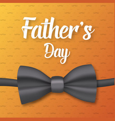 father day greeting card vector image