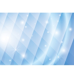 geometric background with lights and stars vector image
