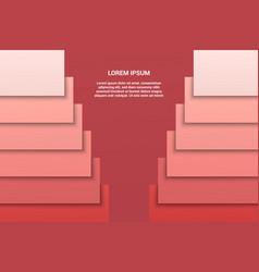 geometric elegant background vector image