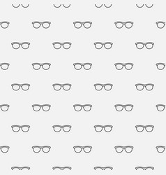 Glasses seamless minimal pattern vector