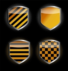 Protect shield vector image vector image