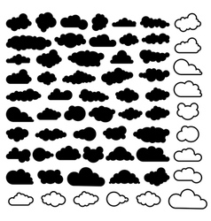 Sky clouds vector