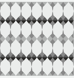 tile grey black and white pattern vector image
