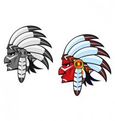 indigenous people vector image