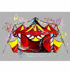 Abstract circus vector