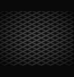 black embossed pattern plastic grid vector image