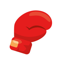 Boxing glove icon vector