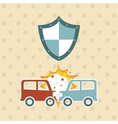 insurance concept design vector image