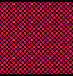 Seamless geometrical crimson circle pattern vector