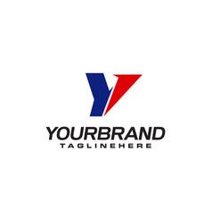 Unique logo that forms letter y matches your vector