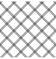 White black striped pixel seamless pattern vector