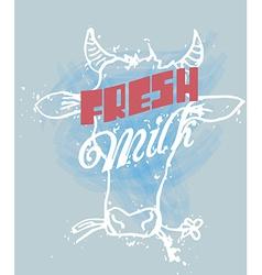 Fresh Milk vector image vector image