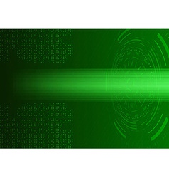 Futuristic abstract transparent background - vector
