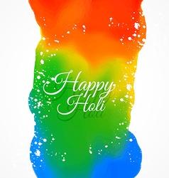 happy holi colors vector image vector image