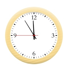 Watch isolated on a white background vector image vector image
