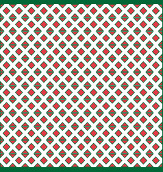 abstract red square pattern background imag vector image