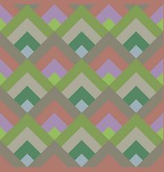 Colorful geometric diagonal shape mosaic tile vector